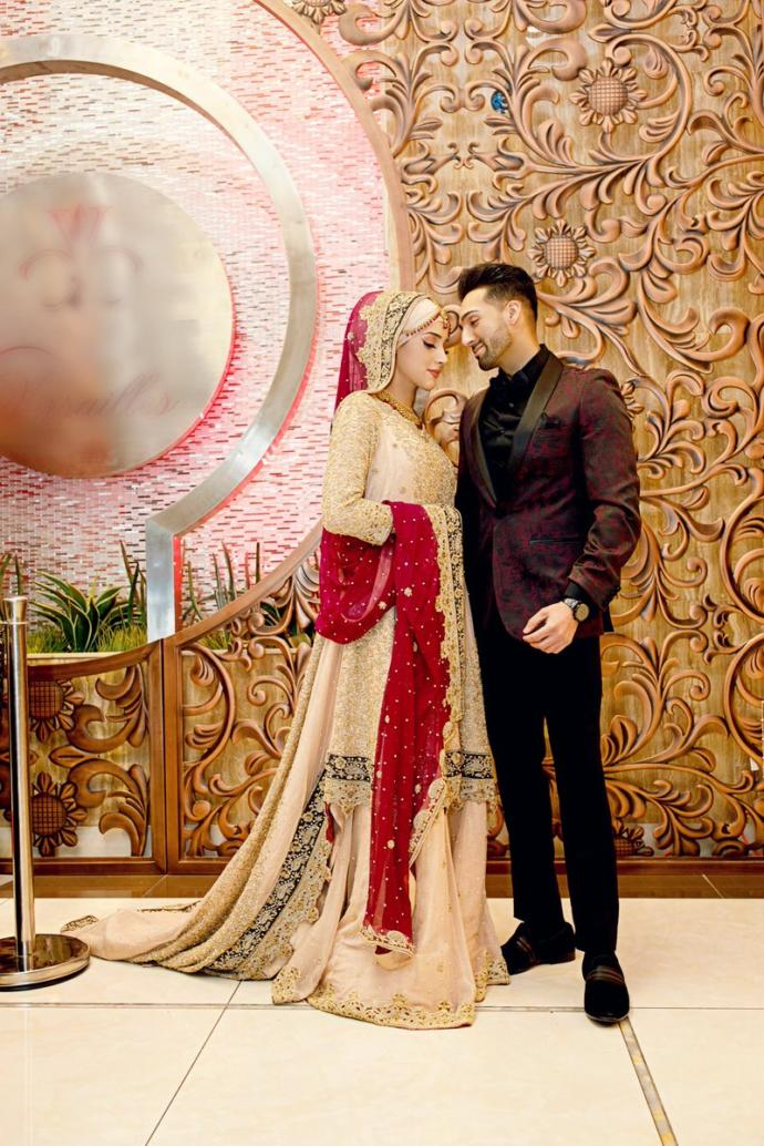 Sham Idrees and Saher engagement which took place yesterday