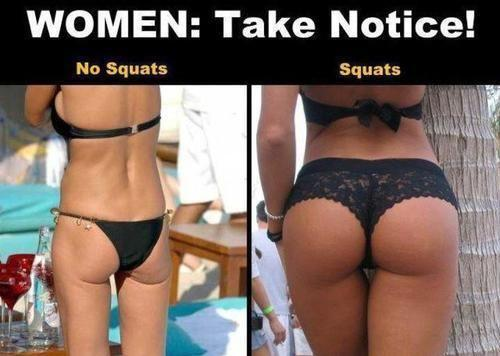 Ladies, would you do a butt building workout if your gut suggested it?