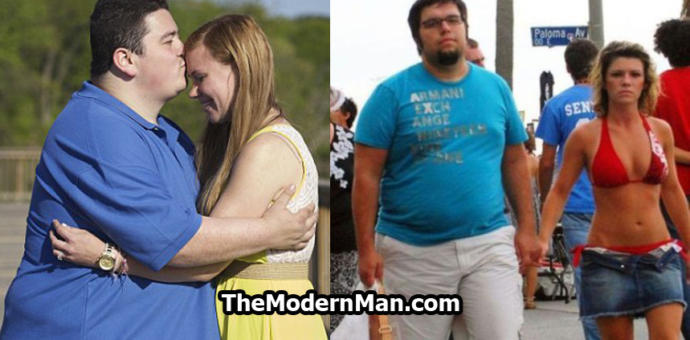 Girls who are slim or normal weight-- would you date a fat guy?