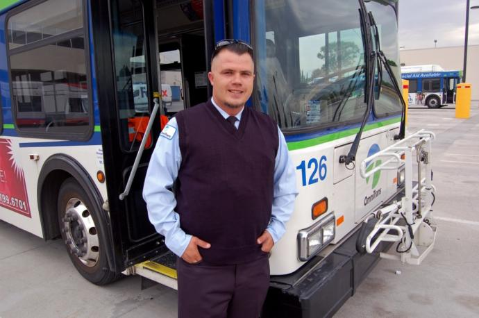How can a bus driver be 15 years old and the other one 30?