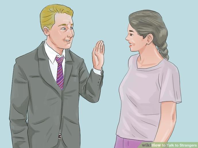 How often do you talk to strangers?