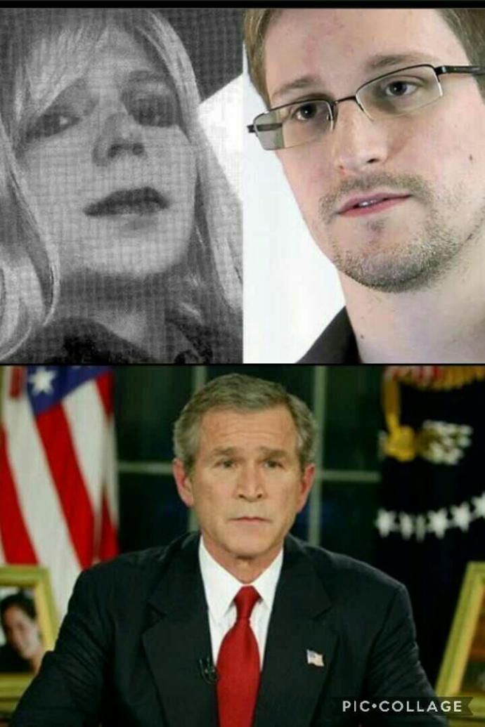Can You be a patriot And Support wiki leaks's whistleblowers And denounce Iraq war?
