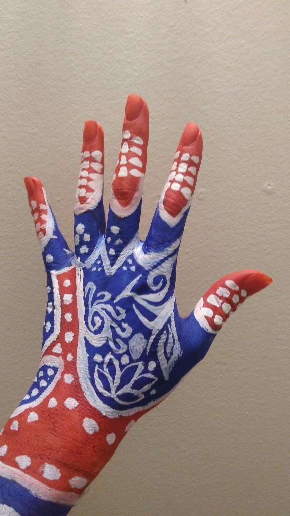 Which one of these painted hands do you like the most??