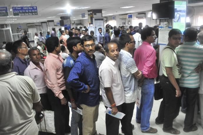 Would you travel to any country where people queue like this?