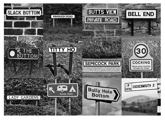 Have you funny place names where you live?