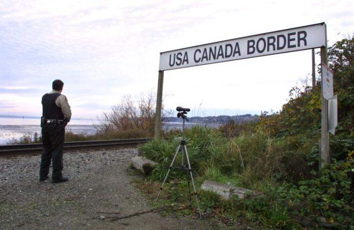 If a plane crashes on the border between the United States and Canada, where do they bury the survivors?