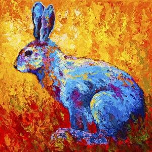 Which bunny painting?