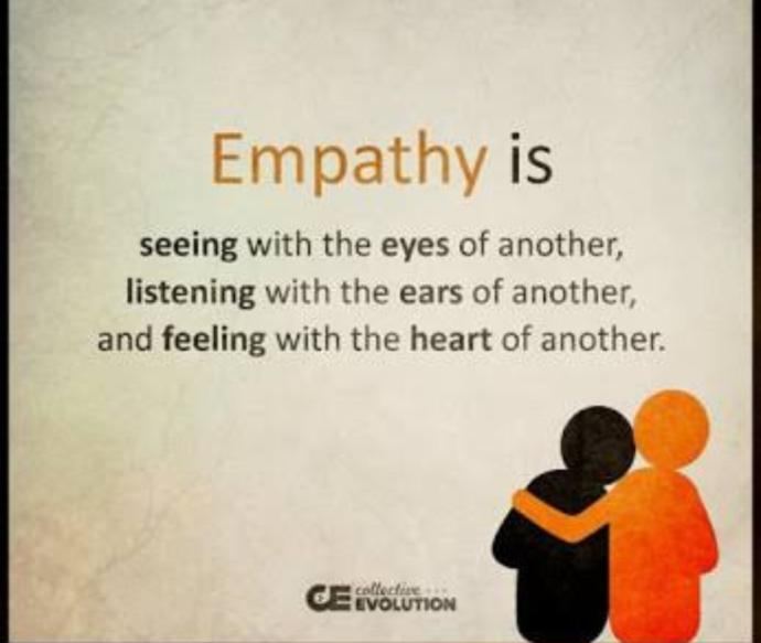 Can empathy be taught to someone who doesn't know how to react to another person's sadness?