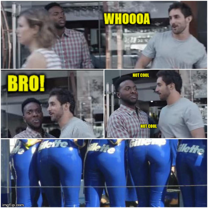 What fors everyone think about the new Gillette ad?