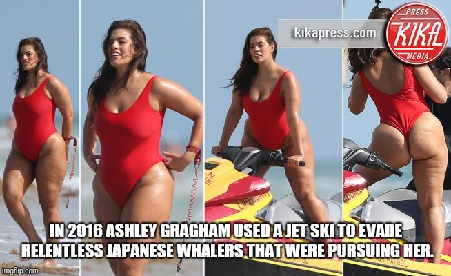 Does Ahley Gragham prove that fat women shouldn't be ashamed and that women are healthy at any weight?