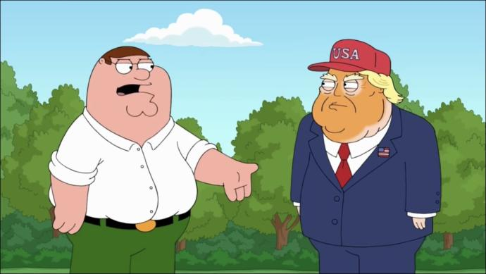Who won? Epic Battle: Trump Vs. Peter Griffin (family guy)?