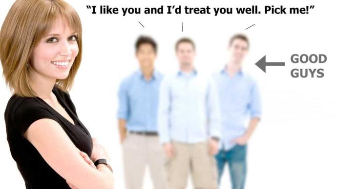 Why do women walk-over good guys?