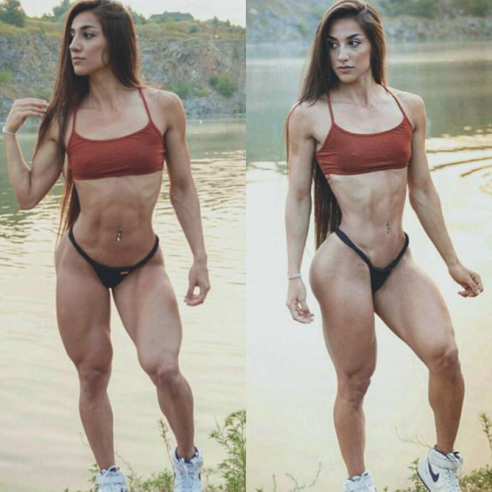 What is the maximum level of abs definition you like on a girl?