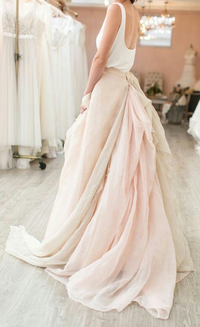 White wedding dress?