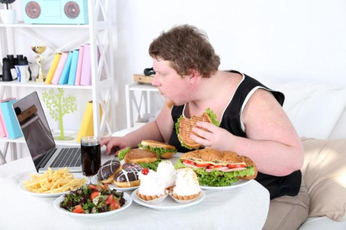 Why do people gain weight when they're upset?
