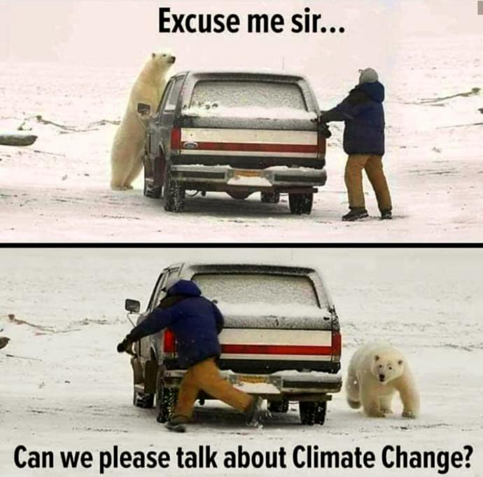 Is anybody concerned about climate change at all?