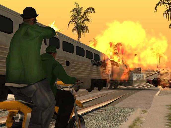 Agree or disagree: GTA San Andreas is the best game ever?