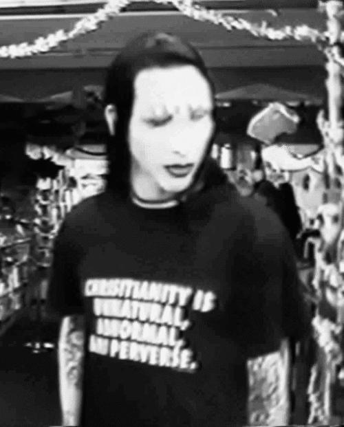 Hottest member of Marilyn Manson's band?