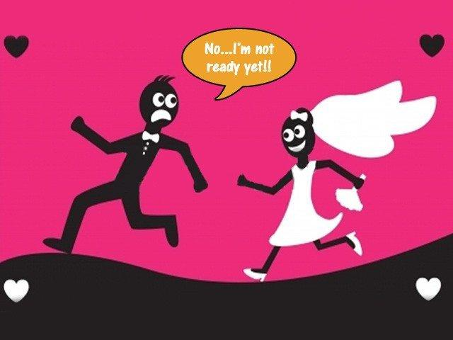 Scared of getting married?