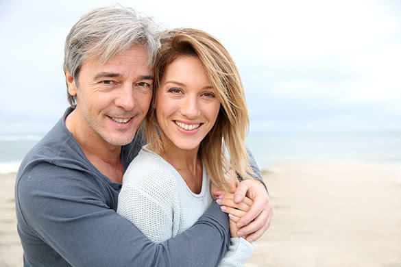 What's wrong with and older man and younger woman