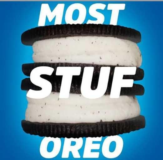 Oreo cream or cookie??