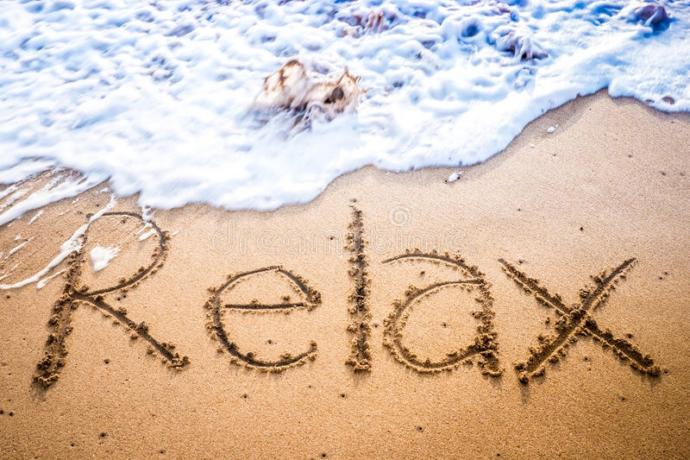 What's one thing that totally relaxes you when you're stressed?