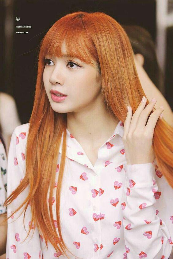 Which haircolor looks better on Lisa (from Blackpink)?