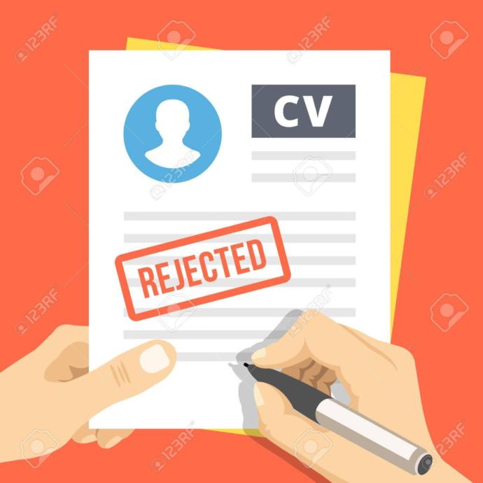 How do you handle employment rejection?