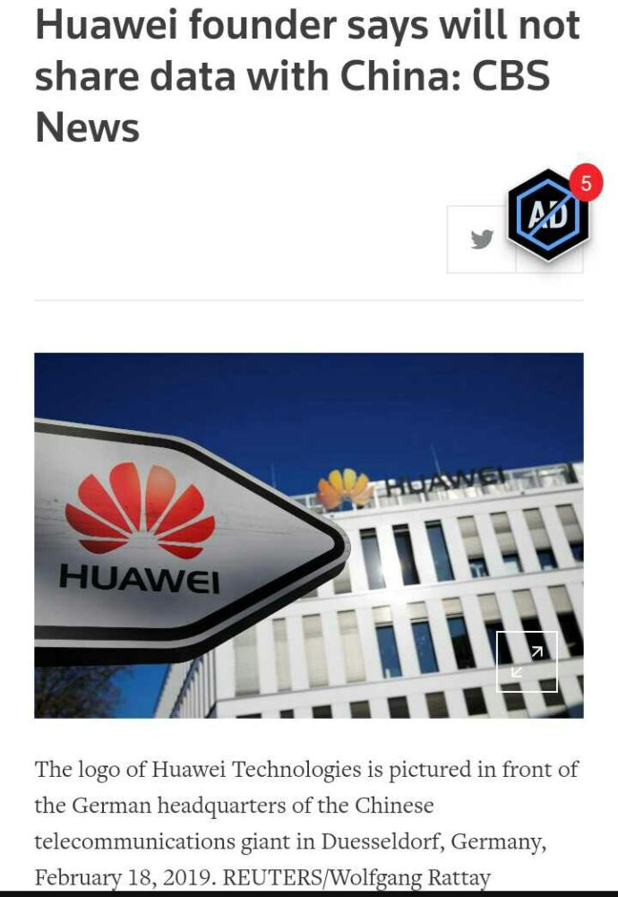 Why There is a war on Huawei?