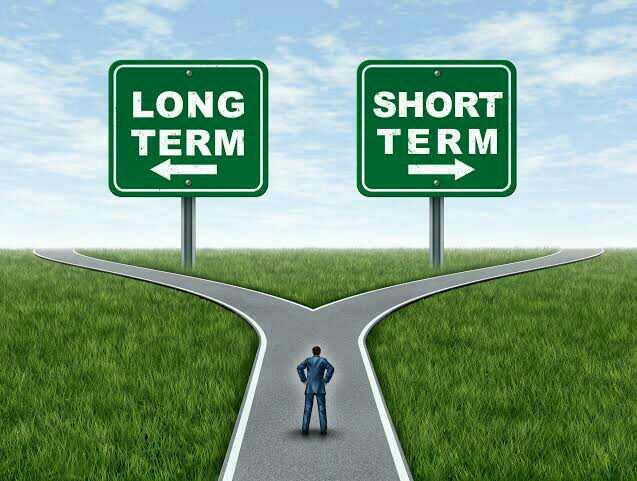 Which are you hoping for in a relationship, long term or short term?