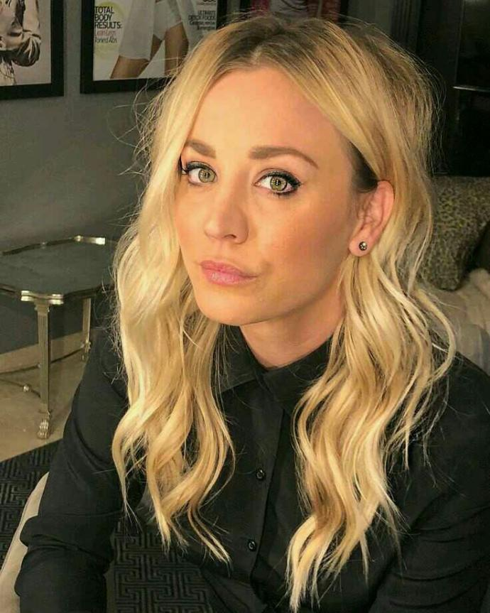 What do you think of Kaley Cuoco?
