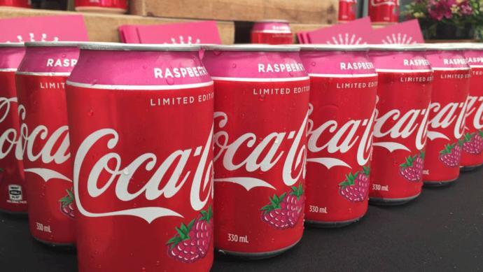 Do you like raspberry Coke?