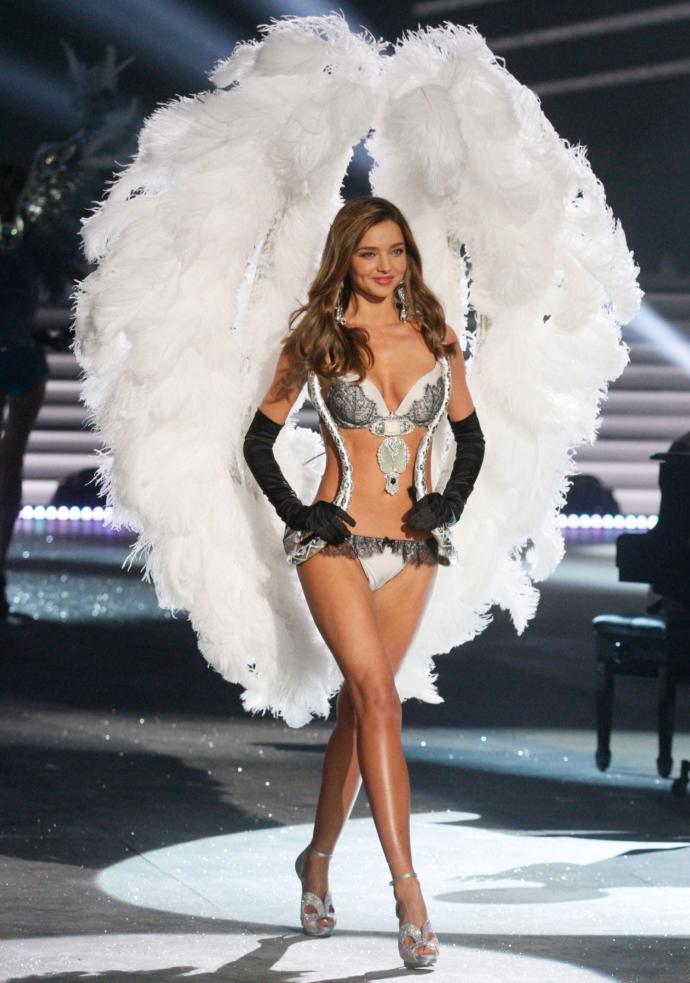 Do you think Miranda Kerr was good looking or pretty enough to be a Victoria Secret Angel model?