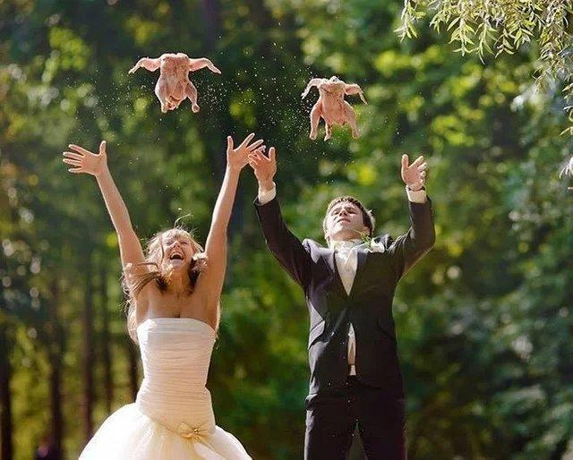 Is this the most romantic wedding ever?
