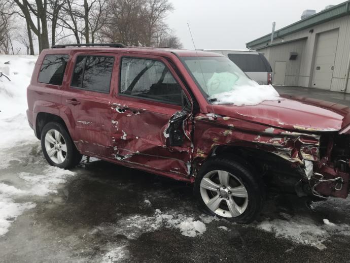 My poor car! 😭