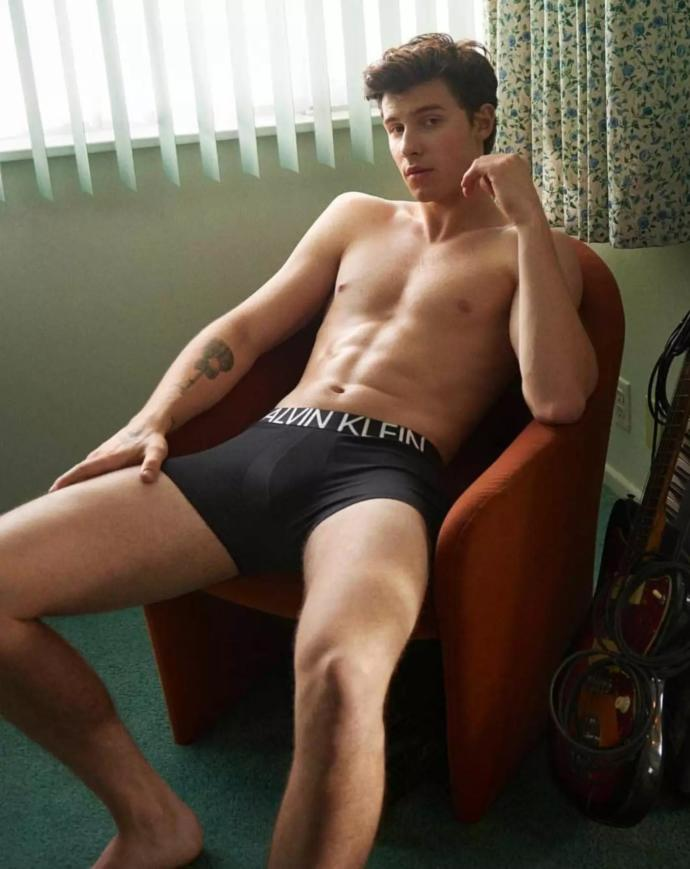 Do you like Shawn Mendes in his new Calvin Klein ads?