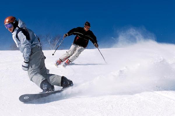 Snowboarding or Skiing?