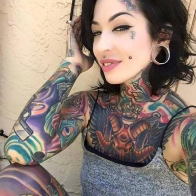 Do You Find Heavily Tattooed Women Attractive