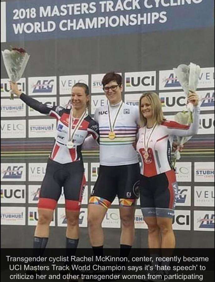 Is it fair that a TRANS female is able to compete in Women's sports?