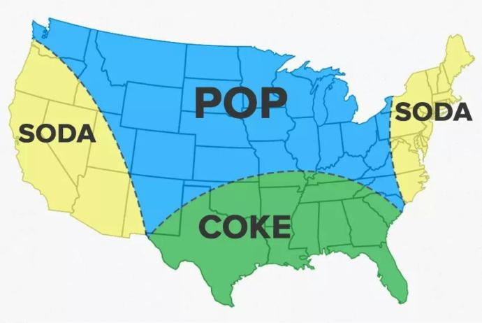 Do you call it Pop, Soda, or Coke where you're from?