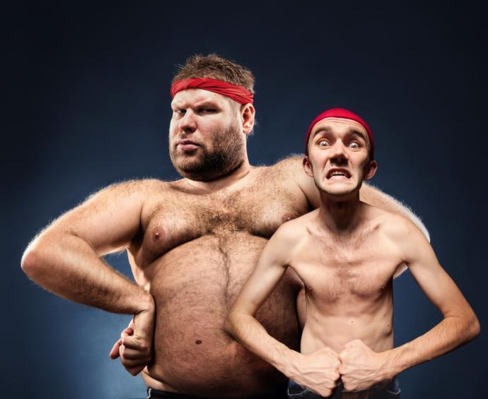 Overweight guy vs skinny guy: which is less attractive to you?