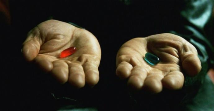 Which pill would you take?