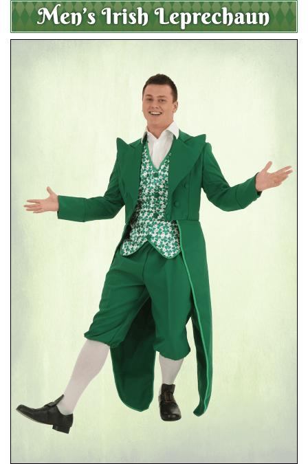 What is your favorite men's St. Patrick's Day outfit?