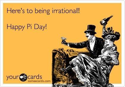 Pi Day plans anyone?