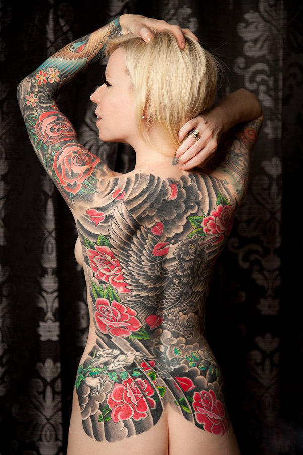 Can tattoos be overdone? Should some of it be hidden?