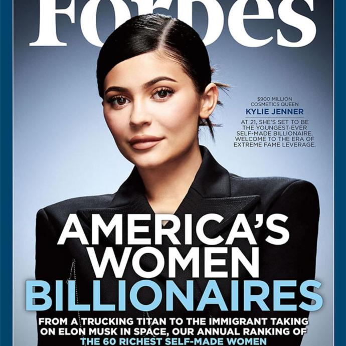 How do you feel about Kylie Jenner being a billionaire?