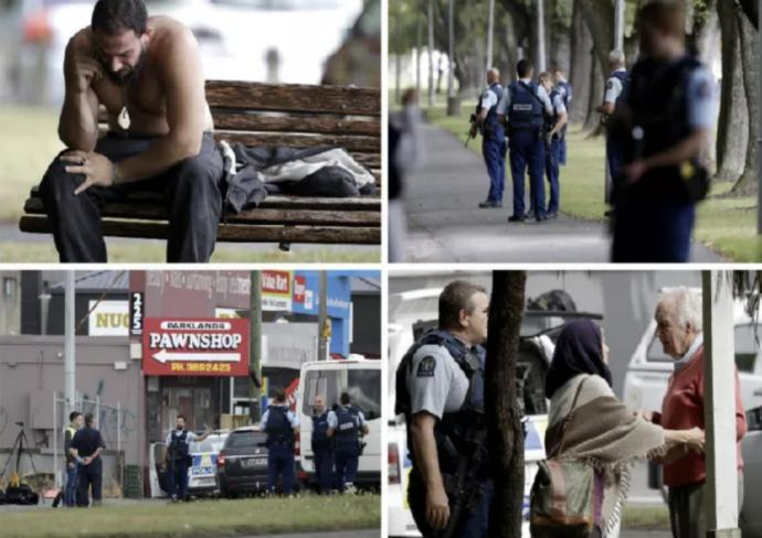 Mass shooting in Christchurch, New Zealand, comments?