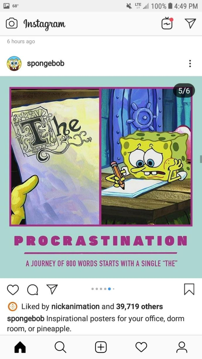 Which of these Spongebob motivational posters do you like best?