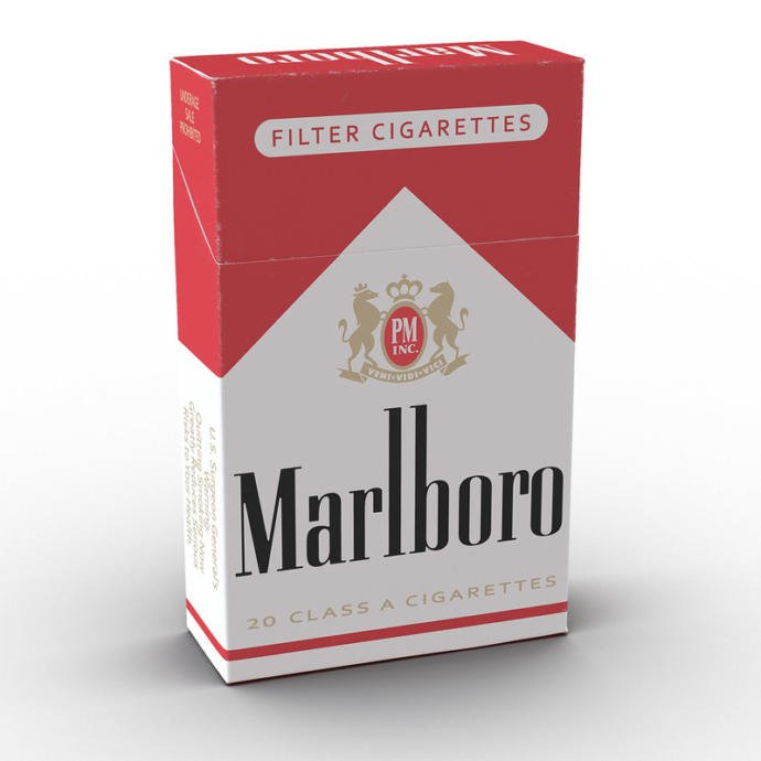 Pack of cigarettes in the USA. Probably because of the Constitution and Republicans.