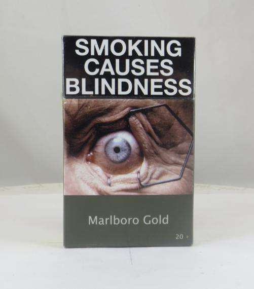 Pack of cigarettes in Australia.